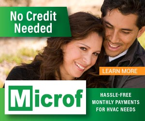 Microf special financing Shafer's HVAC
