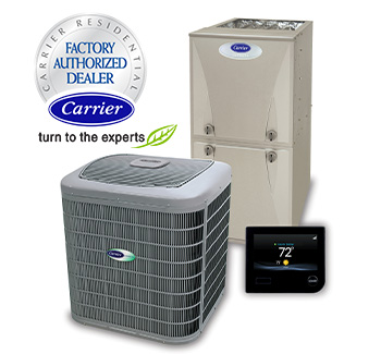 Carrier heating air conditioning sales and installation
