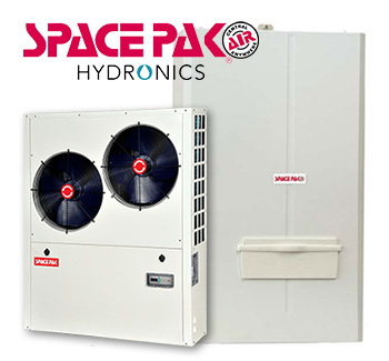 Spacepack Hydronics heating air conditioning sales and installation