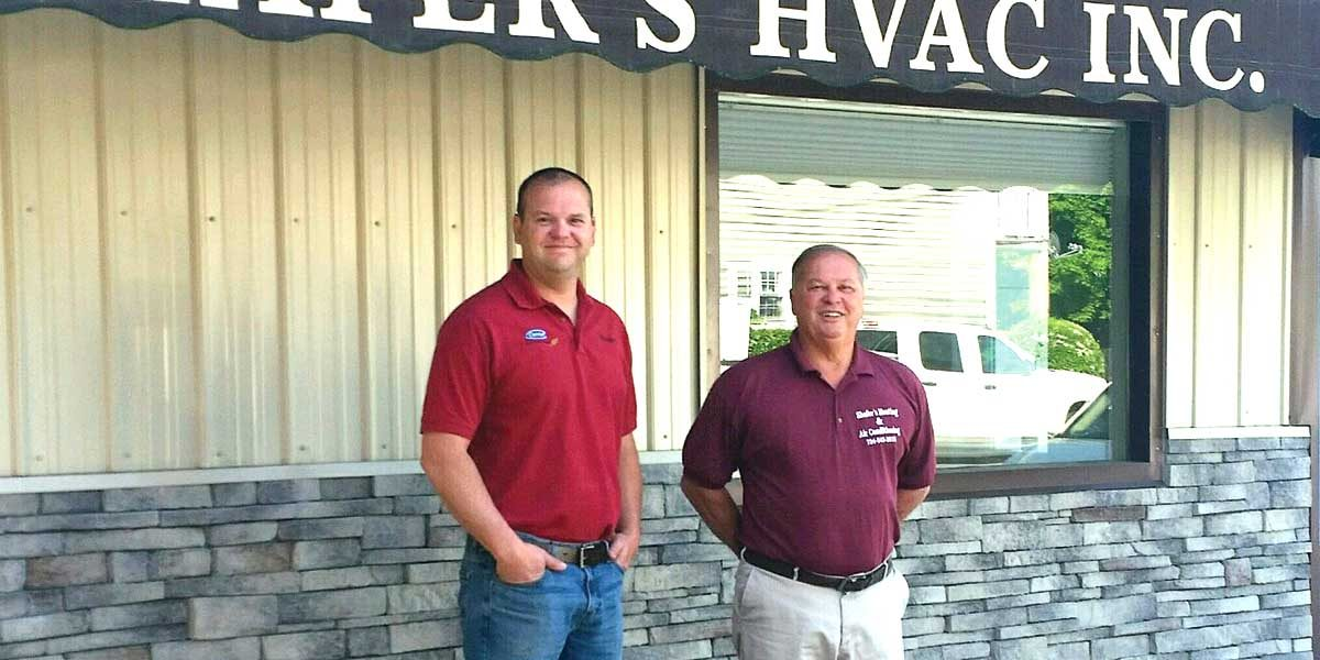 Shafers HVAC family owned Kittaning heating and AC